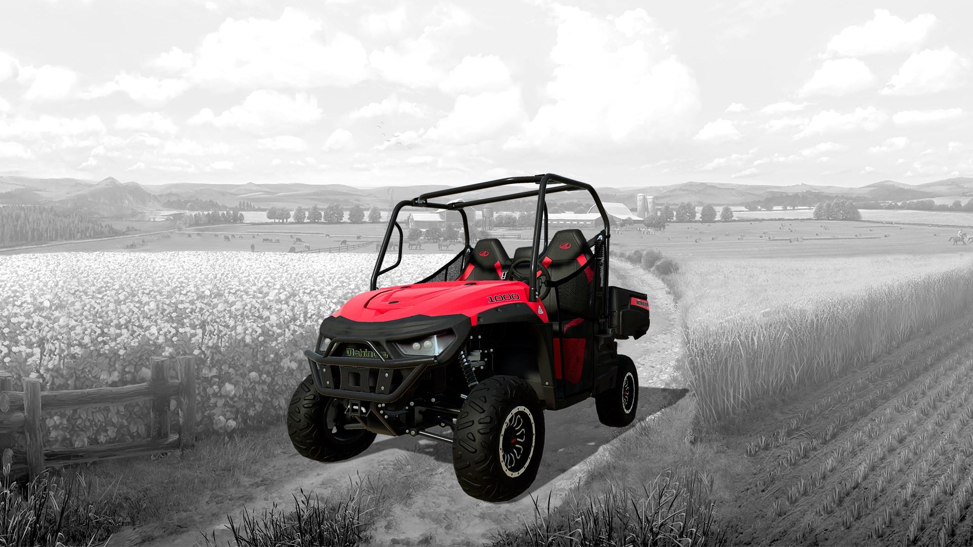 Farming Simulator 19 - Mahindra Retriever DLC