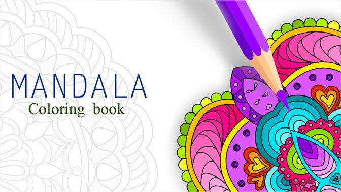 Coloring Book Draw Mandala beziehen – Microsoft Store de-AT