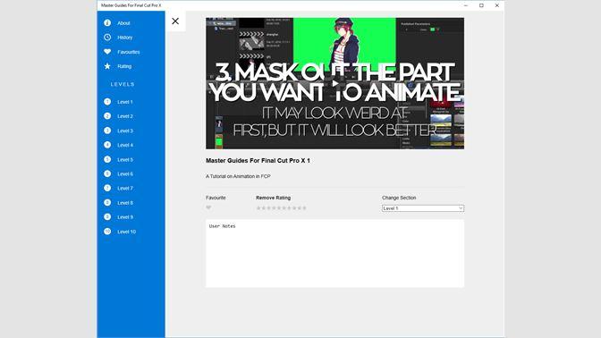 Buy Master Guides For Final Cut Pro X - Microsoft Store en-IL