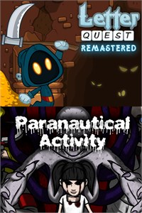 Carátula del juego Letter Quest/Paranautical Activity Bundle