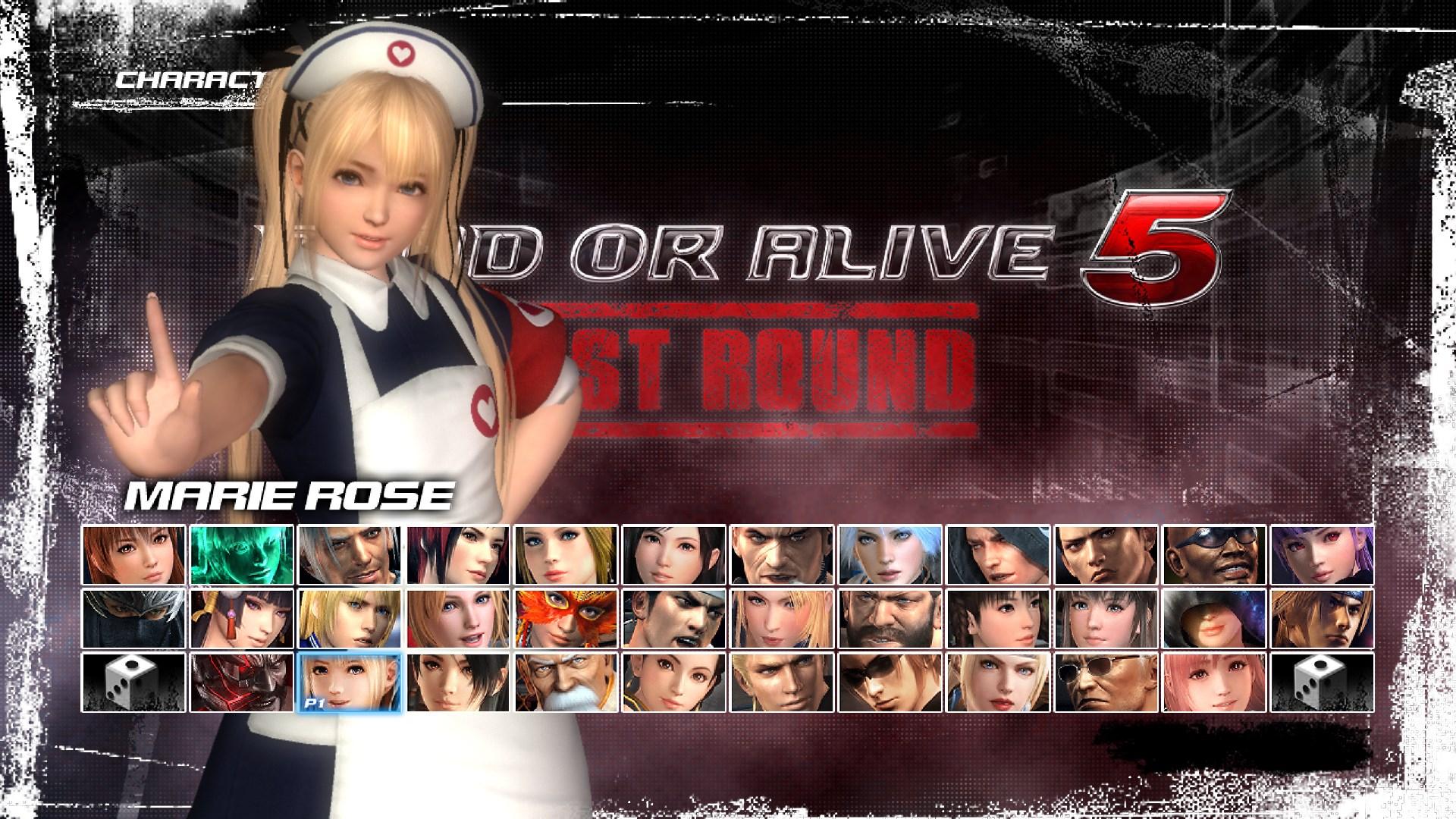 Traje de enfermera de Marie Rose
