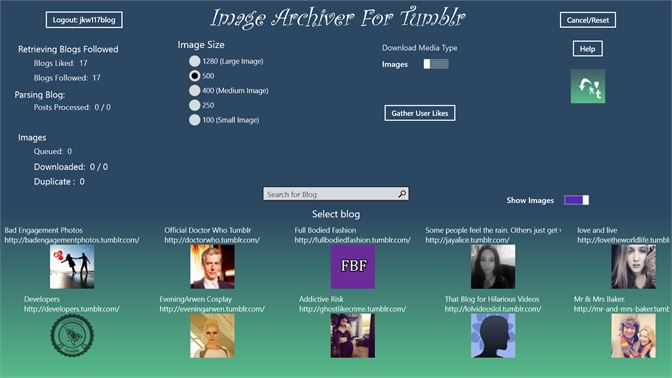 how to download tumblr blog mac