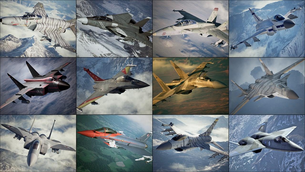 Buy Ace Combat 7 Skies Unknown 25th Anniversary Skin Set Microsoft Store En Gb