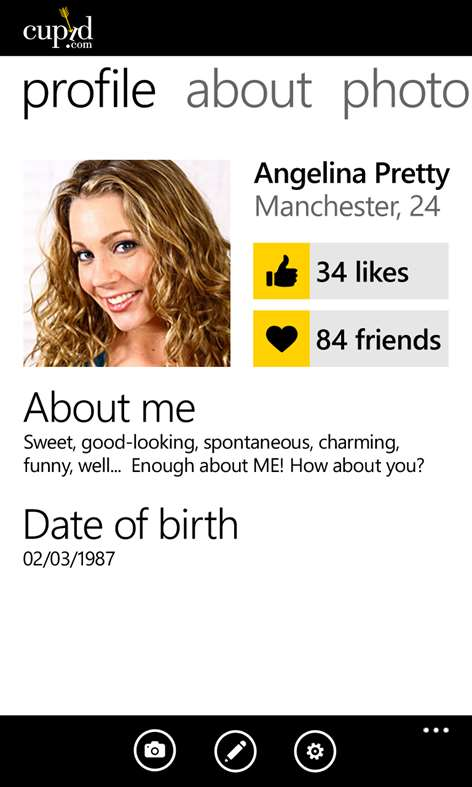 Dating site social network