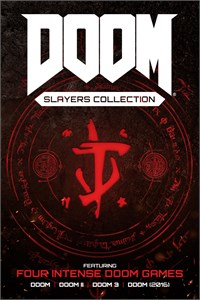 Carátula para el juego DOOM Slayers Collection de Xbox 360
