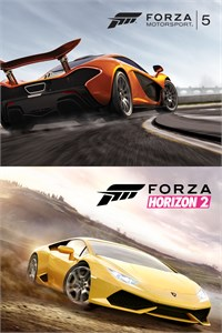 Carátula del juego Forza Horizon 2 and Forza Motorsport 5 Bundle
