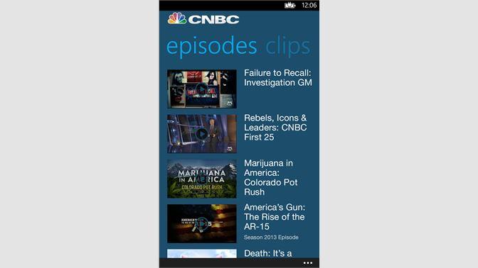 Get CNBC - Microsoft Store