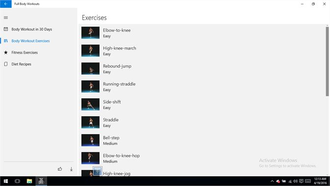 Get Full Body Workouts - Microsoft Store