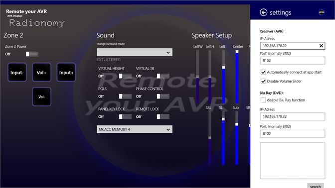 Get Remote your AVR - Microsoft Store