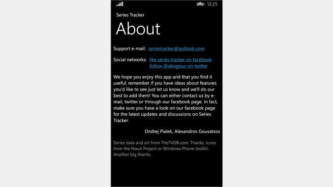 Get Series Tracker - Microsoft Store en-NZ