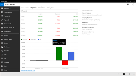Money Tracker Pro screenshot 2