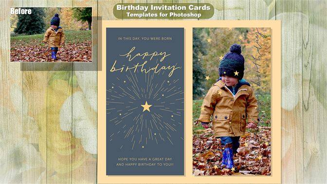 Comprar Birthday Invitation Cards Templates For Photoshop Microsoft Store Pt Br