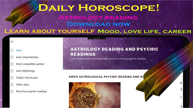 Get Aries daily horoscope - Astrology psychic reading