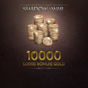 10000 (+2000 Bonus) Gold Xbox One