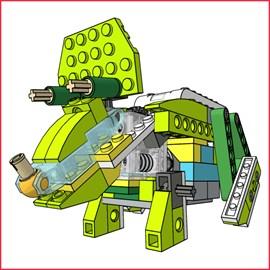 Buy Triceratops — LEGO® WeDo 2.0 unofficial Building ...