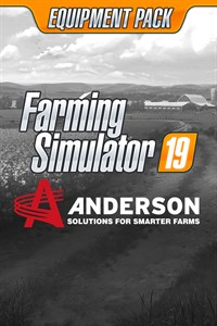 Carátula del juego Farming Simulator 19 - Anderson Group Equipment Pack
