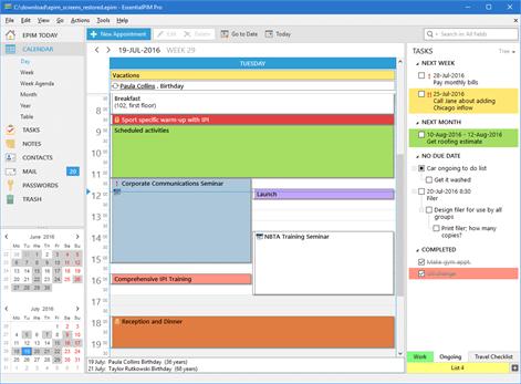 EssentialPIM Pro Screenshots 2