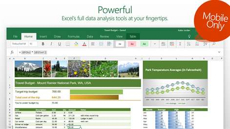Ediblewildsus  Marvellous Excel Mobile  Windows Apps On Microsoft Store With Exciting Screenshot With Astonishing Contains Function In Excel Also Remove Read Only Excel In Addition Free Excel Invoice Template And Excel Powermap As Well As Excel Pie Charts Additionally Excel Import Data From Microsoftcom With Ediblewildsus  Exciting Excel Mobile  Windows Apps On Microsoft Store With Astonishing Screenshot And Marvellous Contains Function In Excel Also Remove Read Only Excel In Addition Free Excel Invoice Template From Microsoftcom