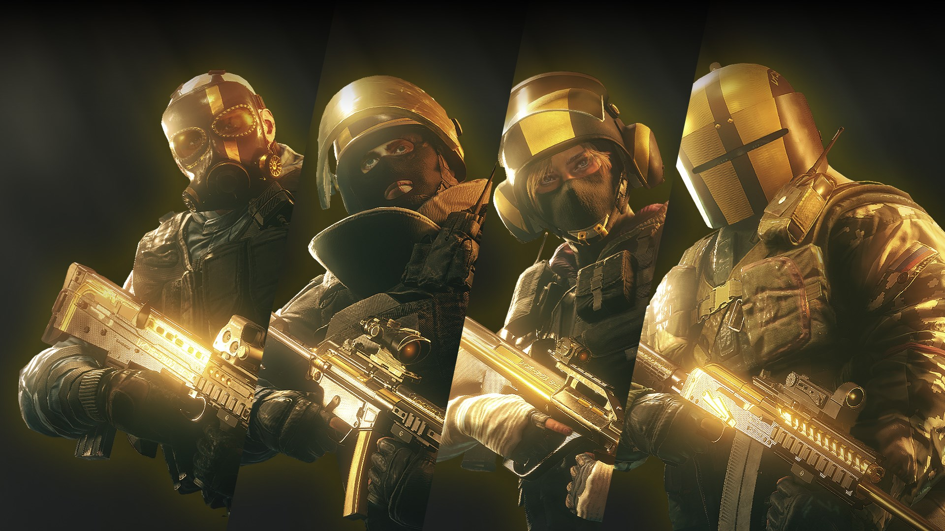 Buy Tom Clancy S Rainbow Six Siege Pro League All Gold Sets
