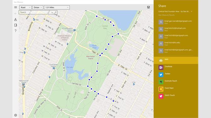 Buy Geo Measure: Map Area / Distance Measurement - Microsoft