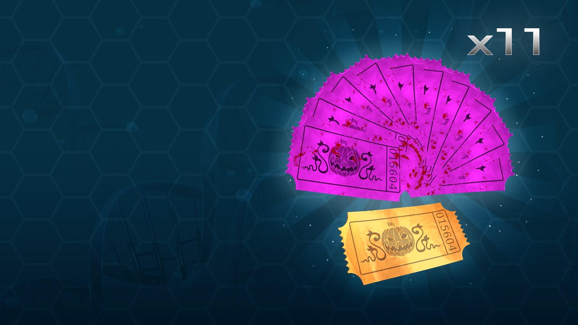 Серебряный набор премиум-билетов на Хеллоуин