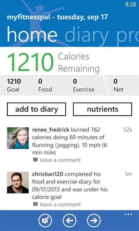 Telecharger Myfitnesspal Sur Windows