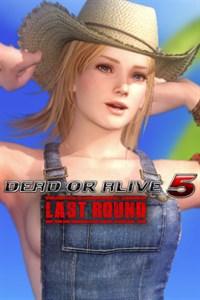 Carátula del juego DEAD OR ALIVE 5 Last Round Tina Overalls
