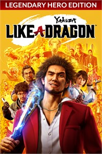 Carátula del juego Yakuza: Like a Dragon Legendary Hero Edition