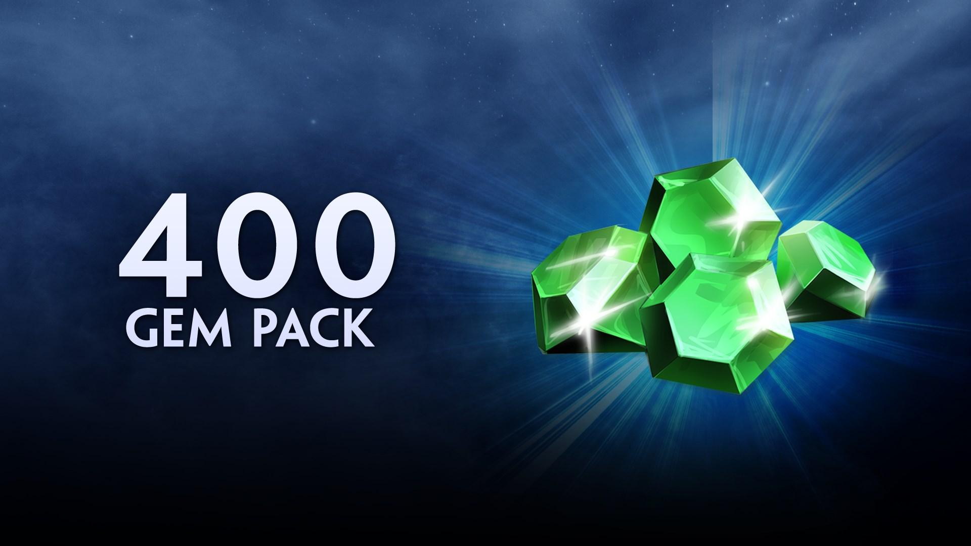 400 Gems