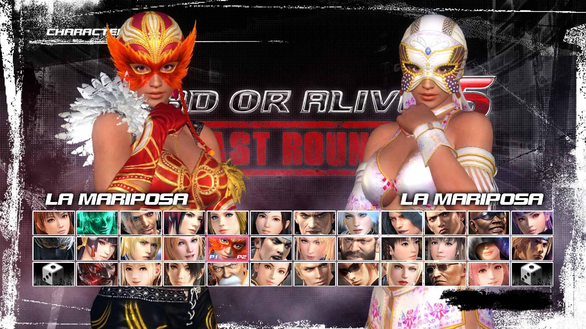 DEAD OR ALIVE 5 Last Round Character: La Mariposa