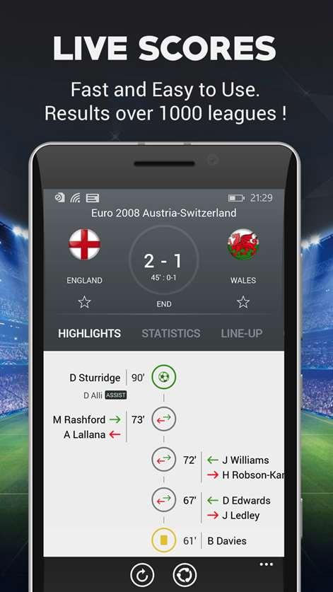 Live Football Screenshots 2