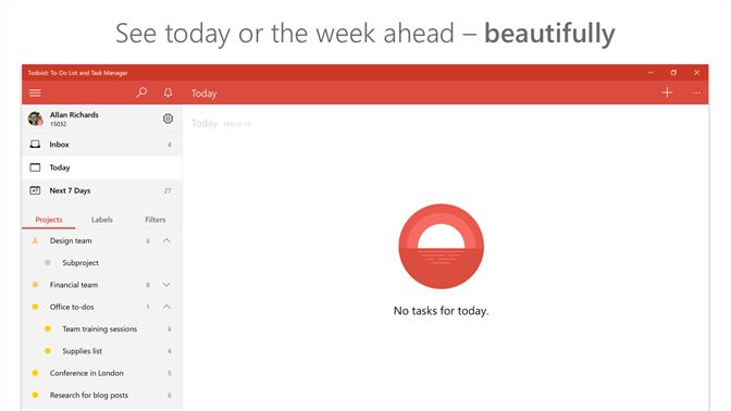 Get Todoist: To-Do List and Task Manager - Microsoft Store en-CA