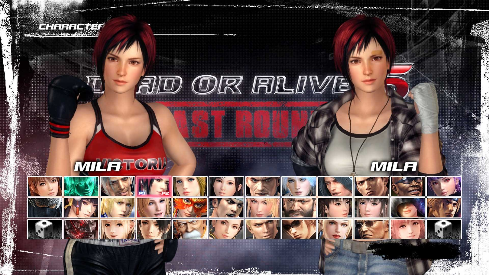 Personagem DEAD OR ALIVE 5 Last Round: Mila