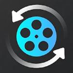 Video Converter & Audio Converter -Crop & Convert video to MP4, MP3, AVI, MPEG, FLV, WMV, MKV, h264 Logo