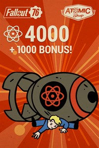 Fallout 76: 4000 átomos (+1000 extra)
