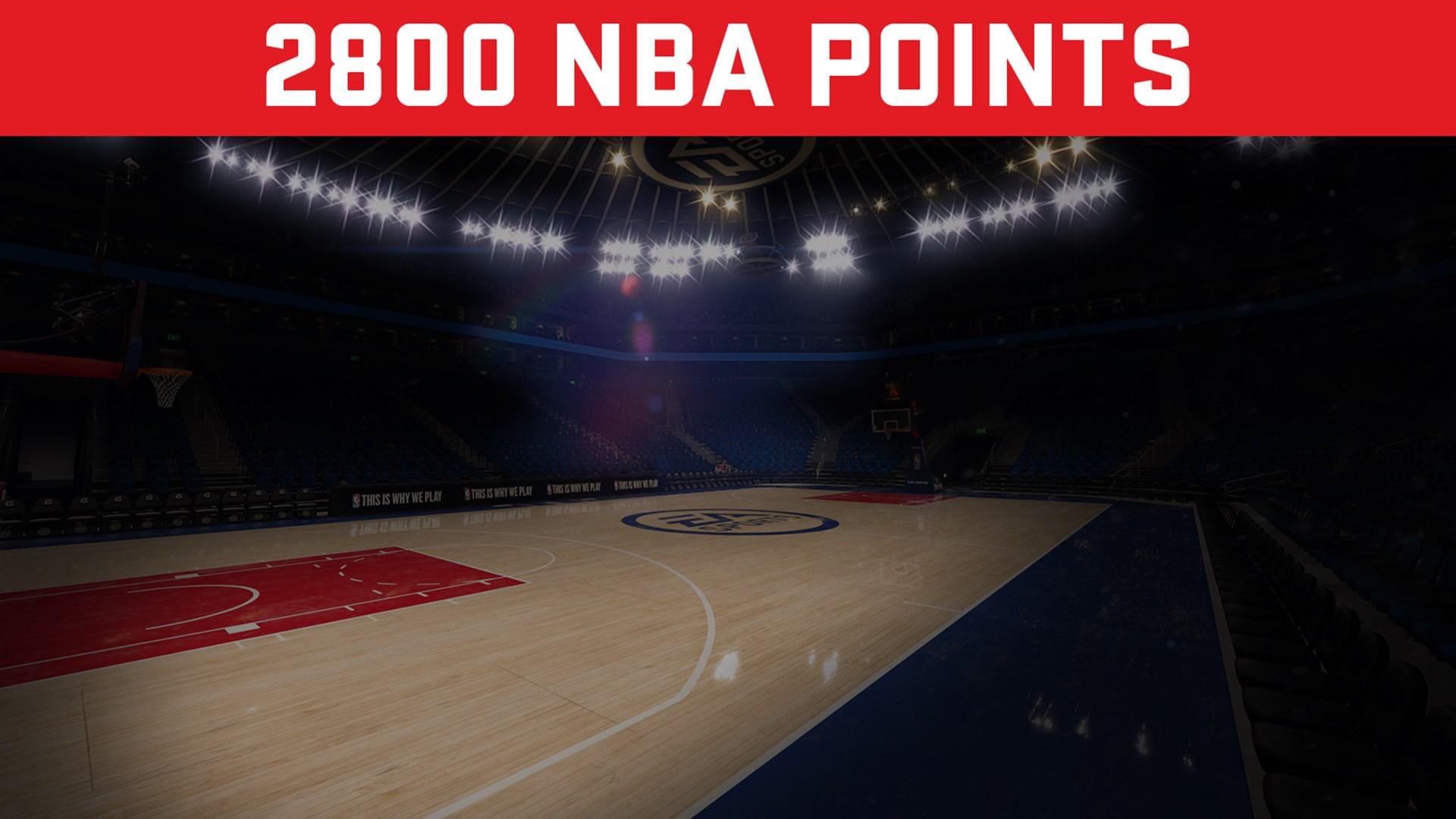 EA SPORTS™ NBA LIVE 18 ULTIMATE TEAM™ – 2800 PUNKTÓW NBA POINTS
