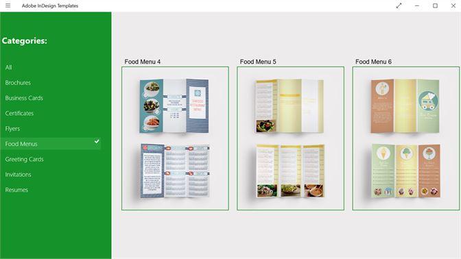 Buy Adobe Indesign Templates Microsoft Store