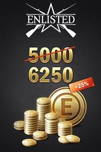 Enlisted - 5000 Gold + 1250 Bonus