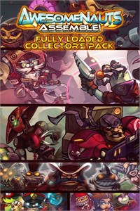 Fully Loaded Collector's Pack - Awesomenauts Assemble! Game Bundle
