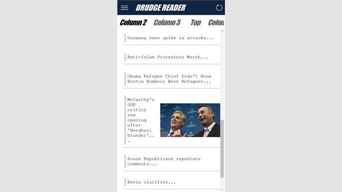 Get Drudge Reader - Microsoft Store