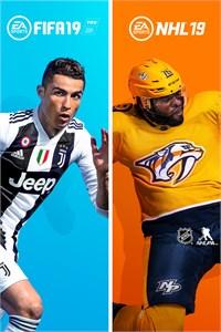 Carátula para el juego FIFA 19 - NHL 19 Bundle de Xbox 360