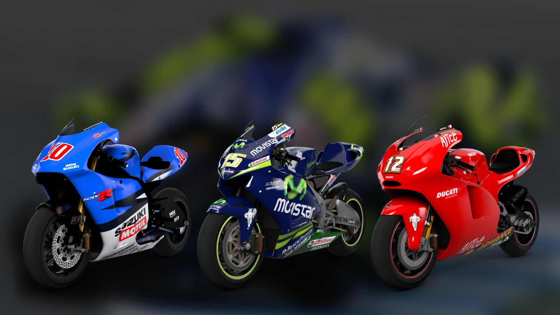 MotoGP™ Legendary Bikes