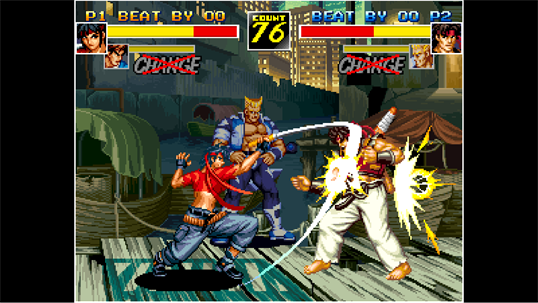ACA NEOGEO KIZUNA ENCOUNTER screenshot 2