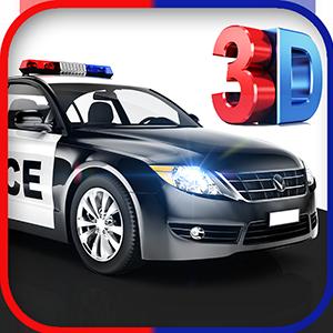 3D Police Car Driving Simulator