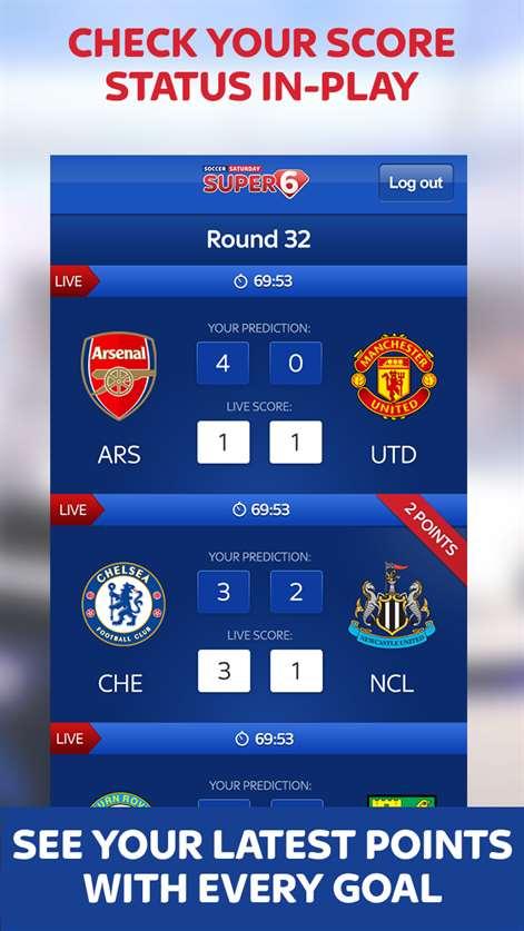 Soccer 6 tab app