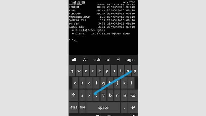 Get MS-DOS Mobile - Microsoft Store