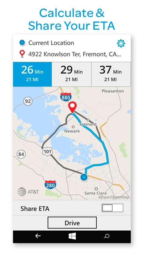 AT&T Navigator Screenshots 2