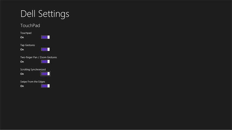 Dell Dock Settings on Windows RT – (Windows Apps) — AppAgg