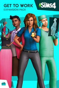 Carátula del juego The Sims 4 Get to Work