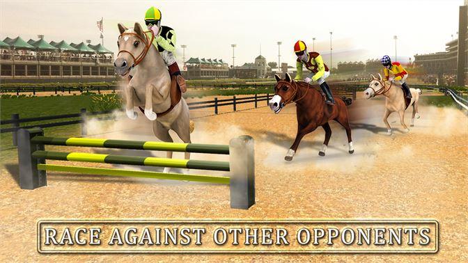 Get Horse Racing Simulator 3D - Derby Jockey Riding - Microsoft Store